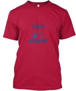 Teespring Top out t-shirt